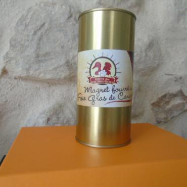 Magret fourré au foie gras...