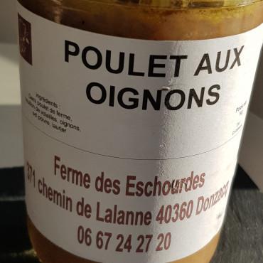 Poulet oignons - bocal 1kg